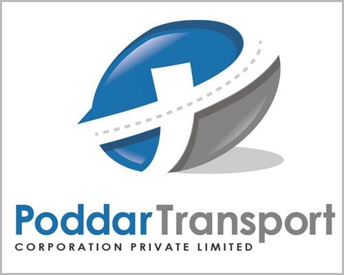 Poddar Transport Logo Design   Branding & Logo Design ...