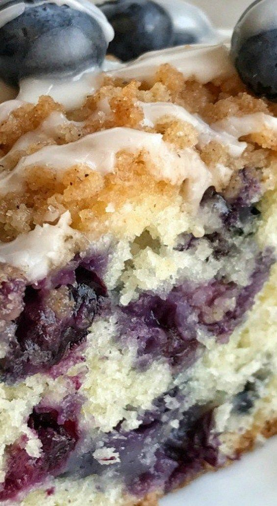 Blueberry Streusel Coffee Cake Streusel coffee cake