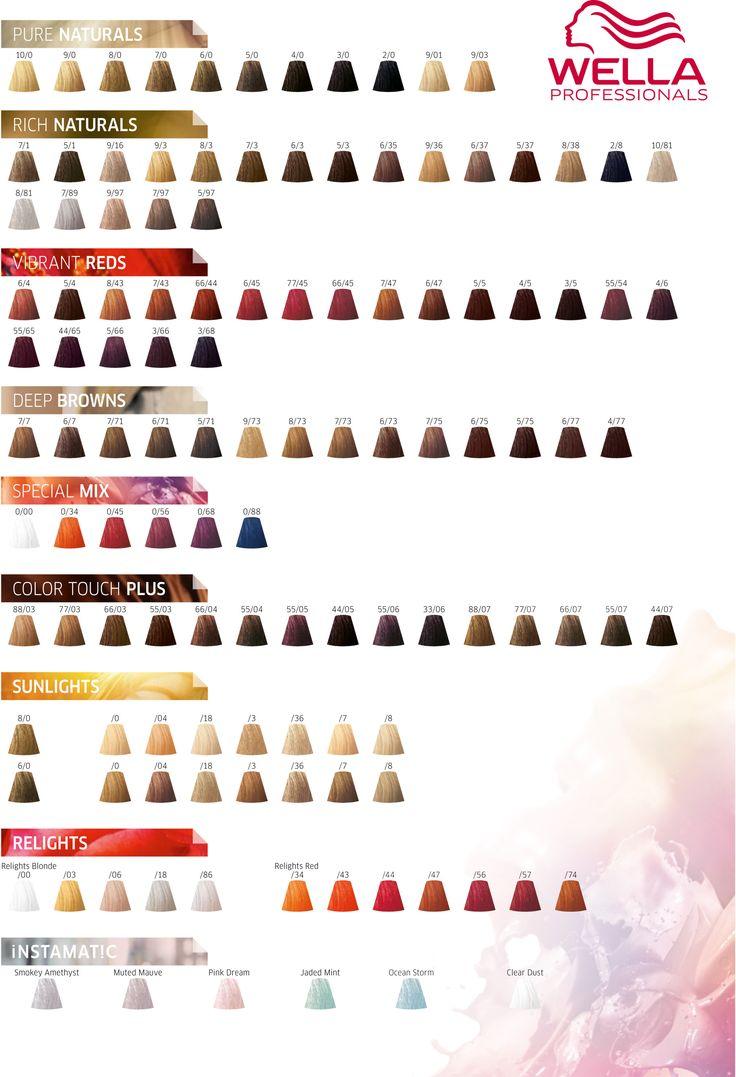 Die Besten 25 Wella Farbkarte Ideen Auf Pinterest Wella Haarfarbenkarte Kupfer Haarfarbe