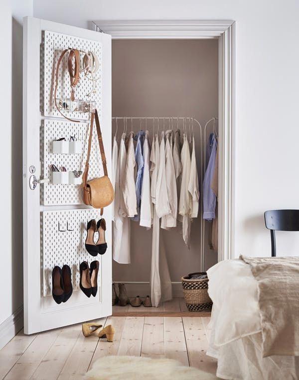 Ikea Skadis Pegboard Ideas Inspiration Apartment Therapy Ikeabedroom Slaapkamerkast Hobbykamer Kast