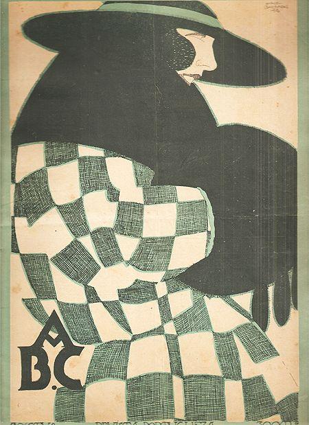 Jorge Barradas, ABC magazine, 1921 - cover