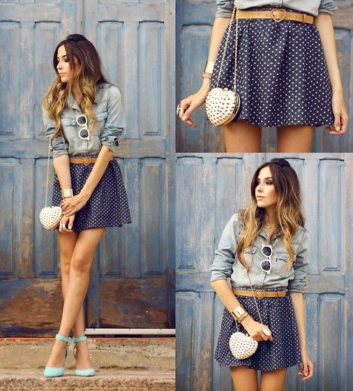 Antix Skirt, Levi's® Shirt - Battle of Broken Hearts - Flávia Desgranges van der Linden