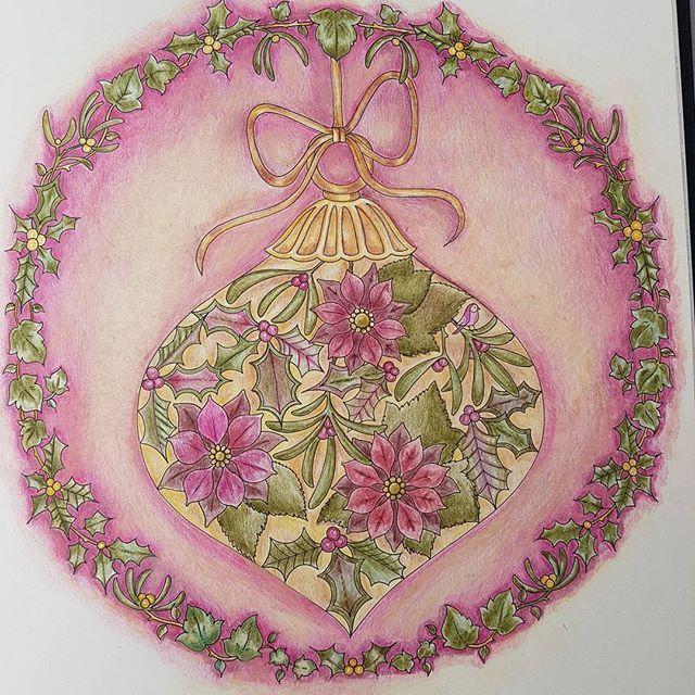 Johannabasford Johannaschristmas Johanna Basford Color Coloring Drawings Luminiance Fabercastellpolychromos