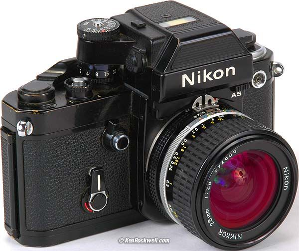1979 Nikon F2AS $500 (used) The F2AS is the last, best, most advanced and most durable mechanical camera ever made by Nikon. It might be the best ever made by anyone.
