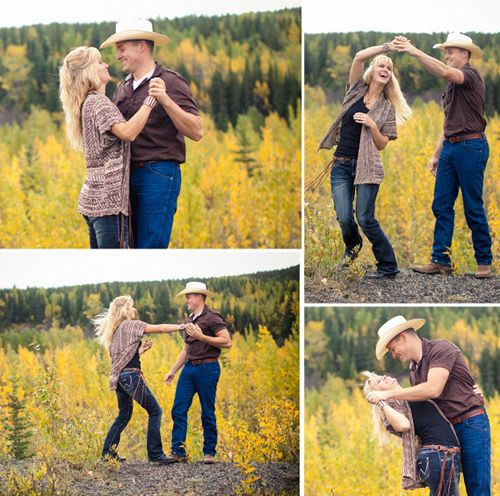 Lovely idea for location engagement shoot