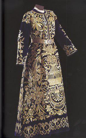 Bindallı entari and jacket, early 20th century, Sadberk Hanim Museum