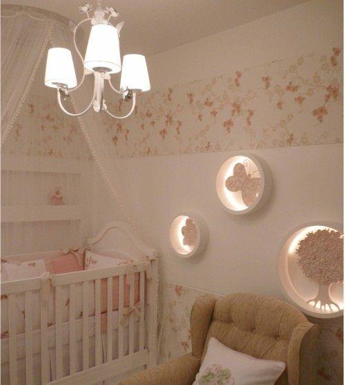 25+ melhores ideias sobre Quarto de bebê no Pinterest  ~ Wallpaper Quarto De Bebe