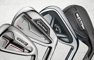 Discount Golf Clubs & Affordable Golf Equipment from GolfEtail - Your irons are used for the majority of your shots in a round, so pick a set that you feel comfortable with, which gives you the blend of distance, feel, and control that you are looking for. We have some great deals on name brand golf irons here, so you're sure to find something to your liking at a price you can afford.