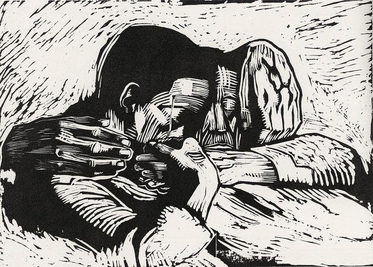 Käthe Kollwitz, 1919, woodcut | by paonia