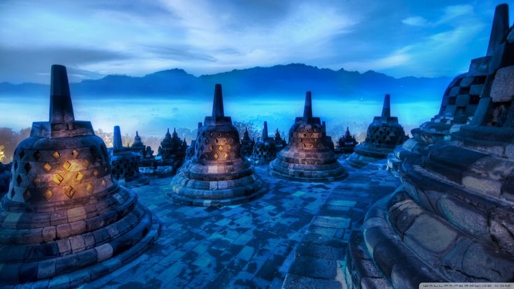 Hearts Of The Buddhas Indonesia Wallpaper
