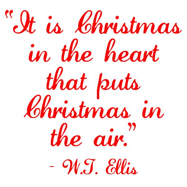 Christmas in the air quotes quotesgram