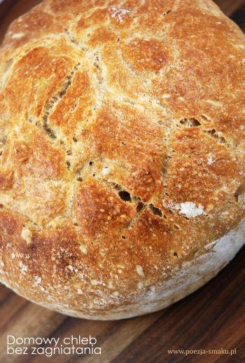 Domowy chleb bez zagniatania.