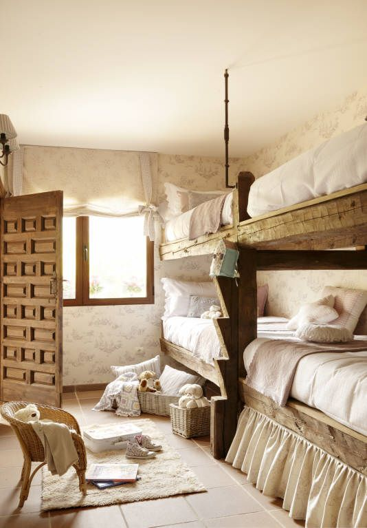 .Our guestroom for visiting children is pretty tidy, although kids are never tidy............