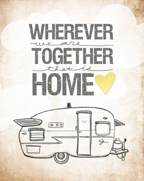 Shasta Trailer Edition wherever we are together Series by vol25, $24.00
