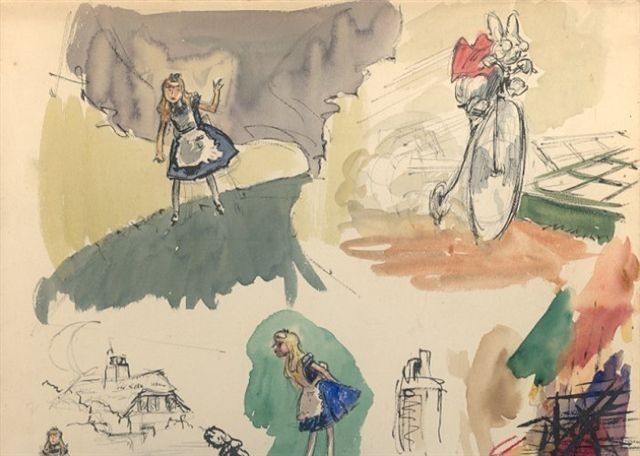 78+ images about Alice in Wonderland concept art on ...