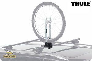 Thule 593 Wheel On - Thule Roof Mount Bike Wheel Rack