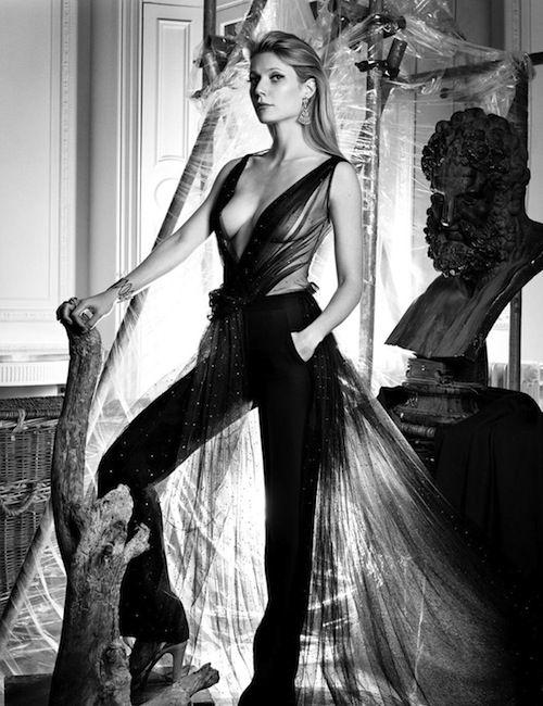 Gwyneth Paltrow...in an unusual photo shoot