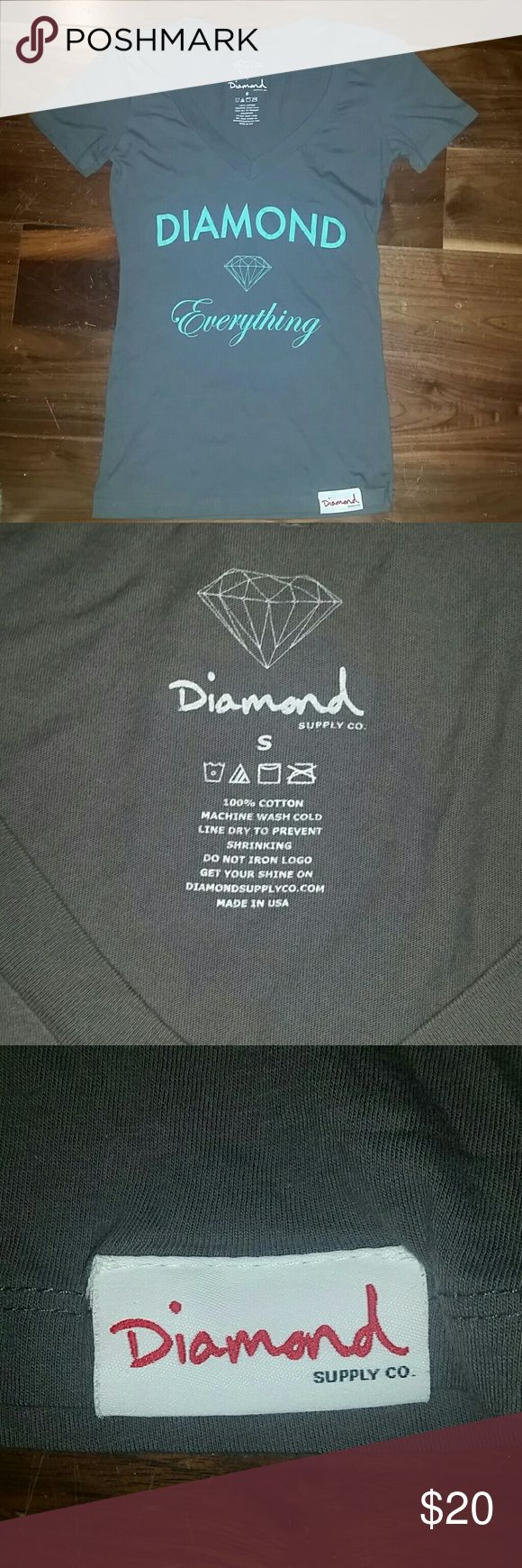 NWOT Diamond Supply company short sleeve tee Brand new adorable Diamond supply tee Diamond Supply Co. Tops Tees - Short Sleeve
