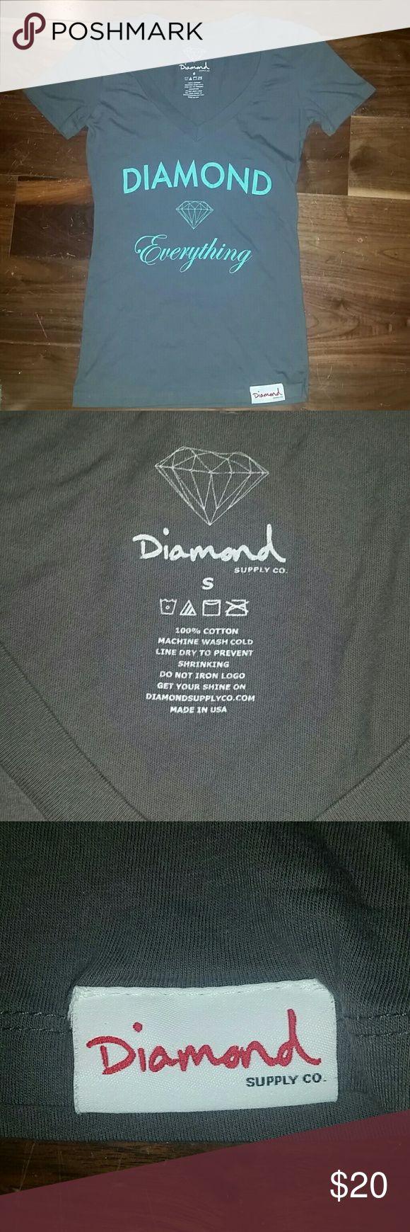 NWOT Diamond Supply company short sleeve tee Brand new adorable Diamond supply tee Diamond Supply Co. Tops Tees - Short Sleeve
