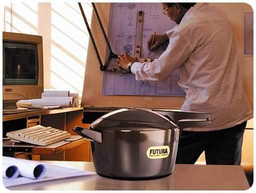 I love my Hawkins Futura pressure cooker! If you've been nervous about using pressure cookers, this one's awesome.