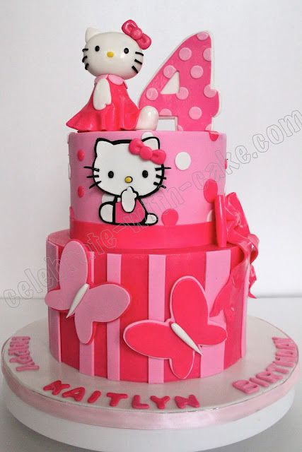 Hello Kitty Cake ~ adorable!