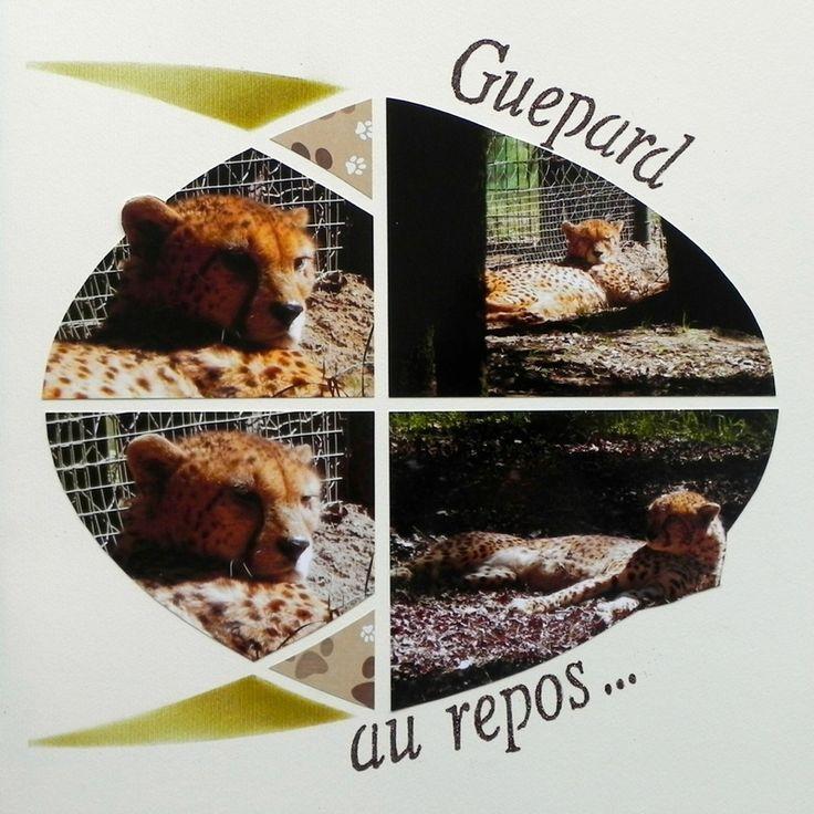 Guépard, Gabarit Ogive Easy Scrap by Sachana
