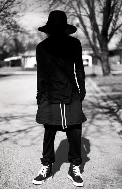 rick owens | macabre | high fashion | goth | editorial | dark fashion