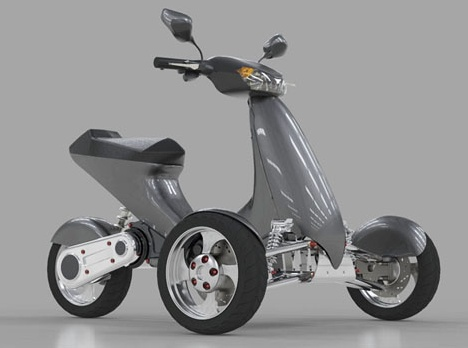 3 Wheel Scooter For Adults >> Sway Motorsports Tilting Electric Trike. | Shae ...