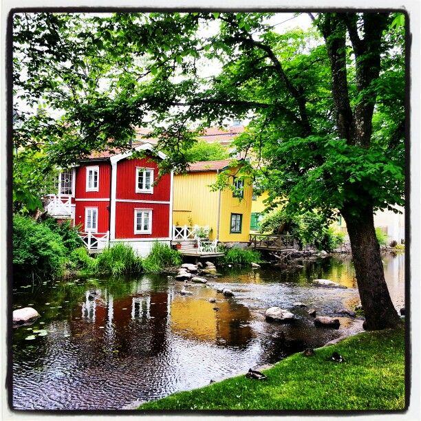 Norrtälje river, Sweden.