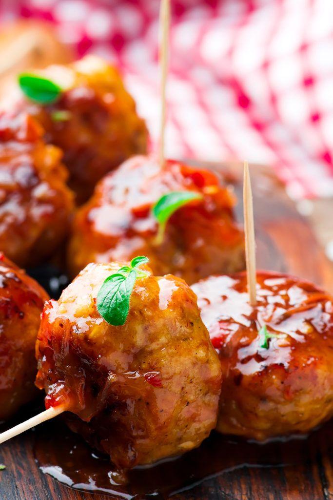 Куриные тефтельки в глазури — Кулинарный Блог