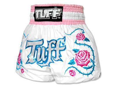 TUFF Muay Thai Shorts Rose