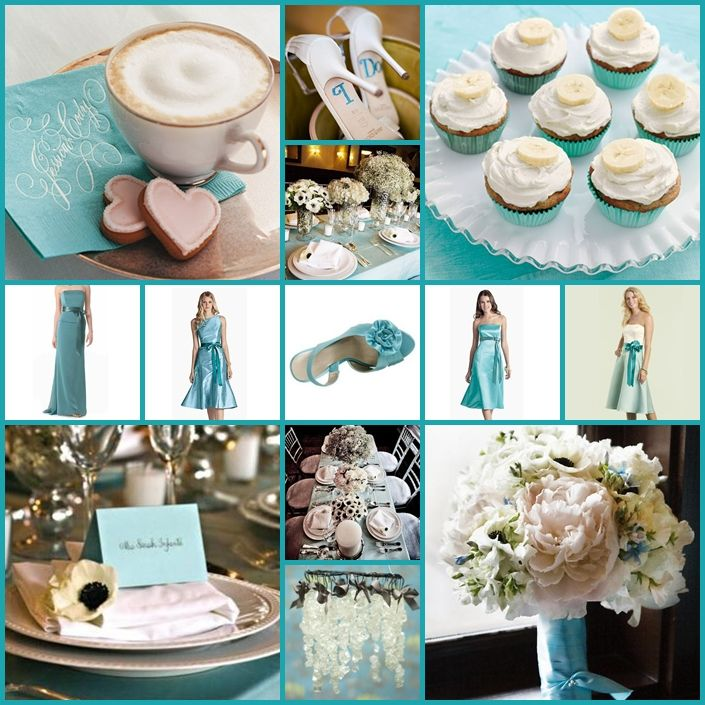 tiffany blue and black wedding decorations%0A Tiffany blue wedding with pops of pale pink http   keentobeseen net