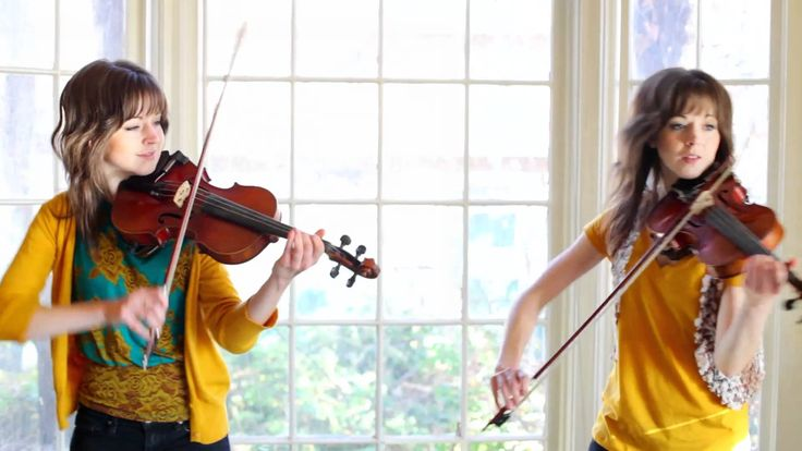 Zelda Violin Duet- Lindsey Stirling. Did one Lindsey ever poke the other Lindsey in the head with her bow?