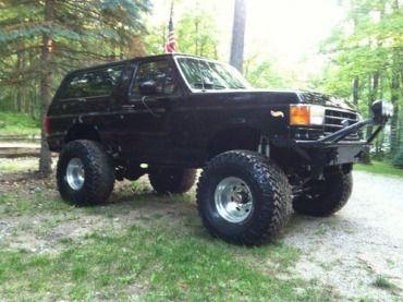 1990 ford bronco,custom lift,39