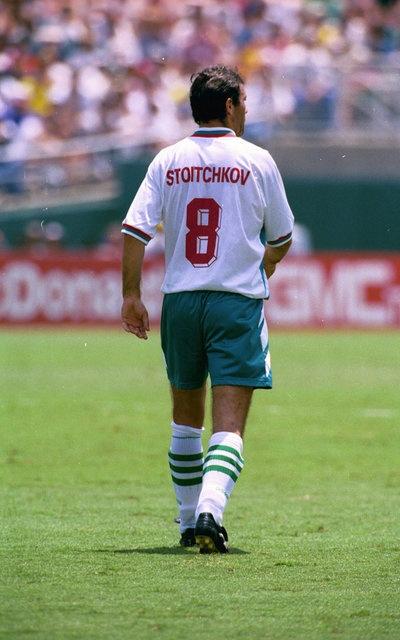 Stoichkov en el Mundial de EEUU 94