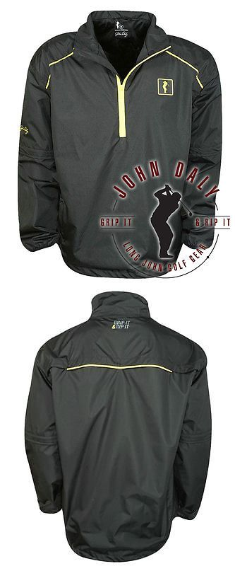 Coats and Jackets 181134: New John Daly Golf- Waterproof 1 4 Zip 2-In-1 Pullover -> BUY IT NOW ONLY: $42.96 on eBay!