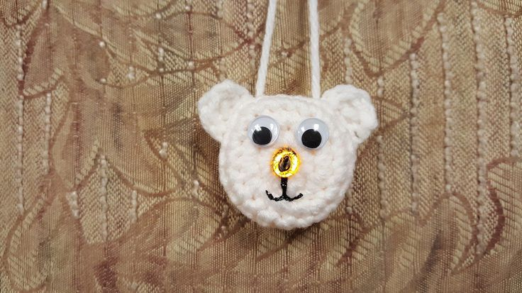 Polar Bear Ornament - Free Pattern