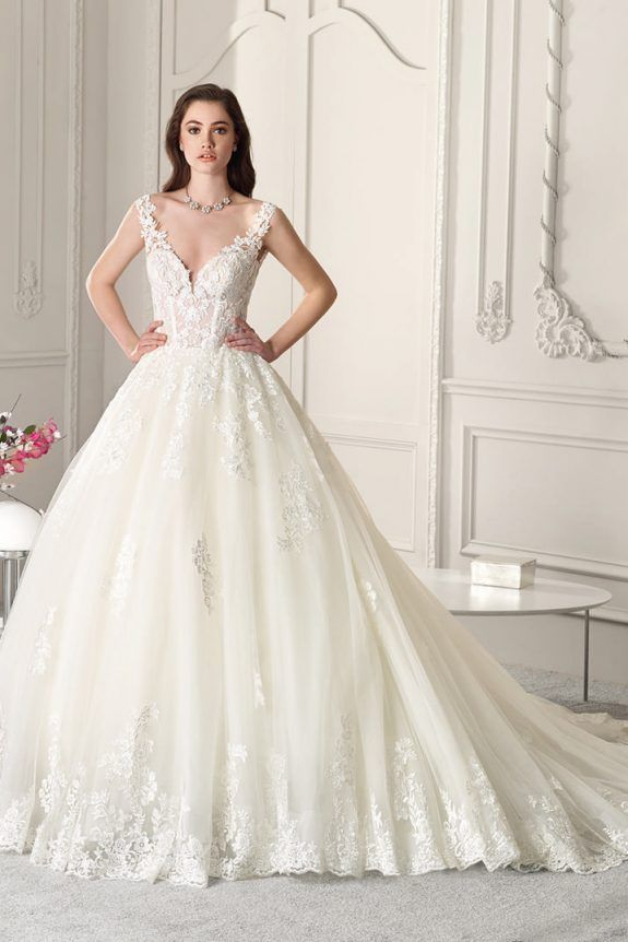 Demitrious Wedding Gowns.Demetrios Wedding Dress 865 Intricate Floral Lace