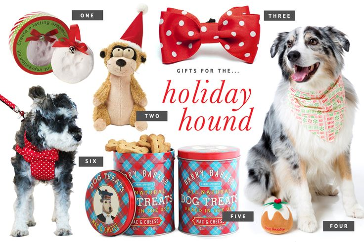 Holiday Gift Guide for Dogs // The ultimate holiday gift guide for dogs - the best stocking stuffers, dog treats, toys and accessories to pamper your pet this holiday season. // www.prettyfluffy.com