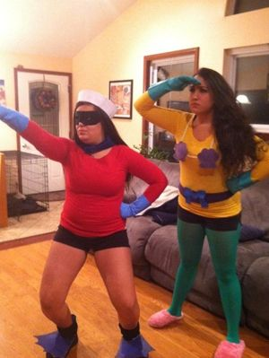 Mermaidman And Barnacle Boy Halloween Costumes