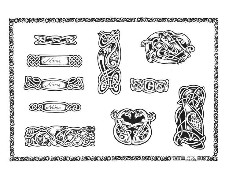Celtic Wrist Band Tattoo
