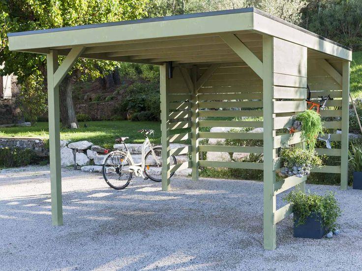 Comment installer un carport en bois ? Leroy Merlin