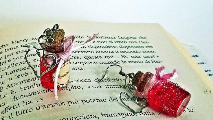 Amortentia potion earrings #harrypotterfandom