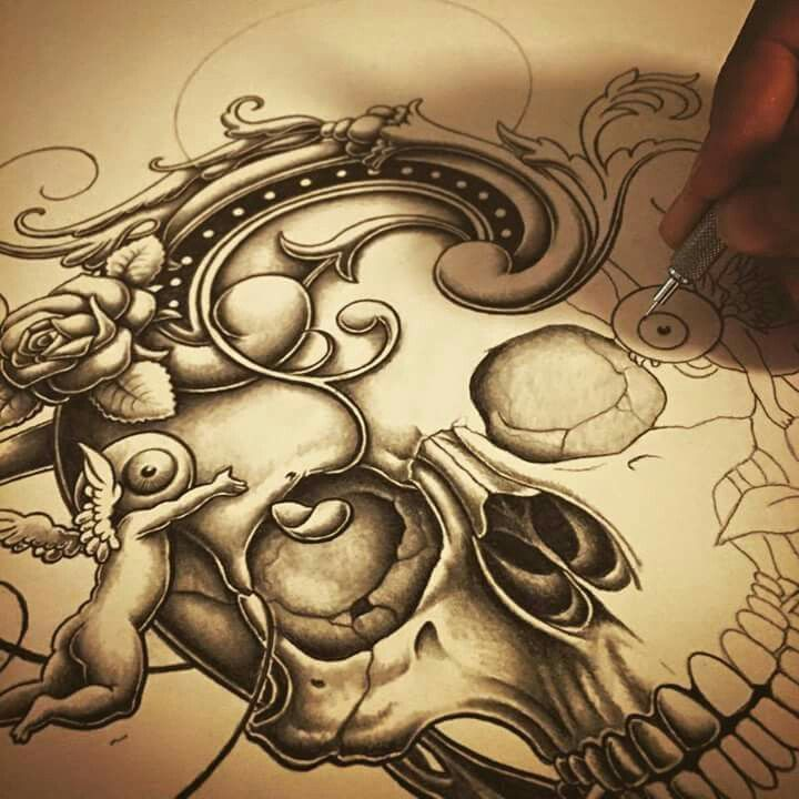 Intricately Detailed Graphite Drawings by Joe Fenton