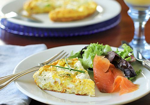 The Galley Gourmet: Potato and Boursin Frittata
