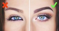 Maquillage des yeux : ce qu'il faut faire et ne pas faire