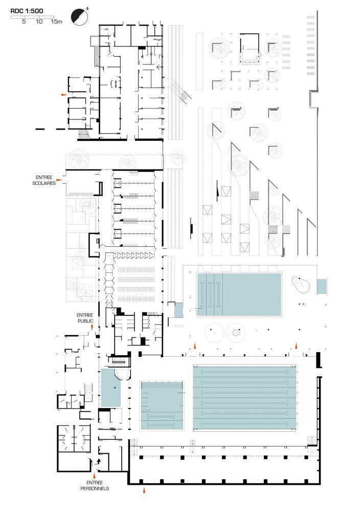 Gallery Of Aquatic Centre Montigny Les Metz / DRD Architecture   8