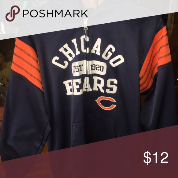 Kids Chicago Bears Zip Up Kids Chicago Bears Zip Up Shirts & Tops Sweatshirts & Hoodies