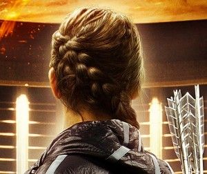 I've been wearing a 'katniss' braid for a few days now and