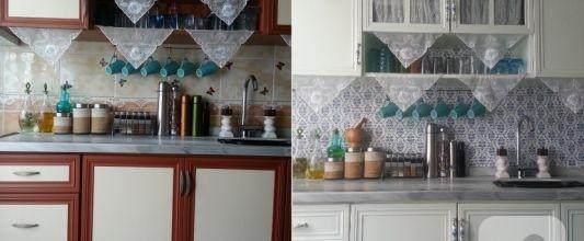 Mutfak yenileme – öncesi sonrası